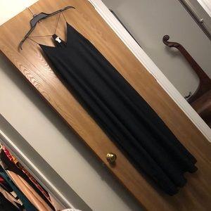 Old Navy Black Maxi Dress